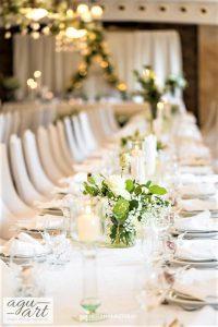 Stoły gości weselnych