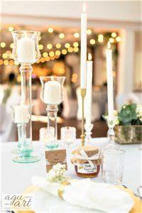 dekoracje świecami