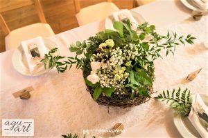 kompozycje kwiatowe na stoły weselne