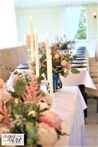 Ślubne dekoracje kwiatowe