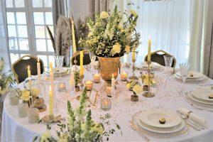 cytrynowe dekoracje ślubne