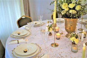 Cytrynowa Dekoracja ślubna