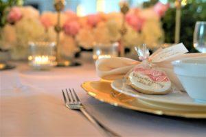 Dekoracja ślubna sali weselnej